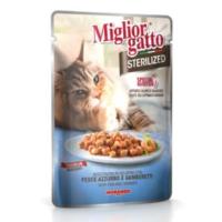 Miglior Gatto Sterilized Balık Ve Karidesli Kedi Konservesi 85 Gr