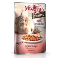 Miglior Gatto Sterilized Somon Balıklı Kedi Konservesi 85 Gr