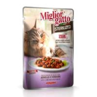 Miglior Gatto Sterilized Kuzu Etli Ve Sebzeli Kedi Konservesi 85 Gr