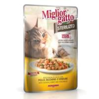 Miglior Gatto Sterilized Tavuk Hindi Ve Sebzeli Kedi Konservesi 85 Gr