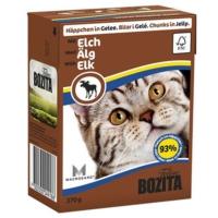 Bozita Elk Tahılsız İsveç Geyik Parça Etli Tetra Paket Konserve Kedi Maması 370 Gr