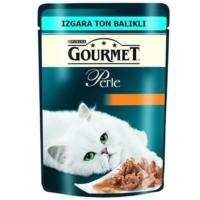 Gourmet Perle Izgara Ton Balikli Yetişkin Kedi Yaş Mamasi 85 Gr.