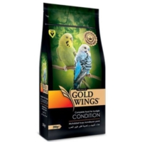 Gold Wings Premium Kiziştirici Muhabbet Kuşu Yemi 200 Gr