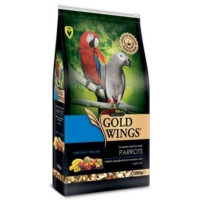 Gold Wings Premium Papağan Yemi 1 Kg