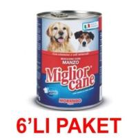 Miglior Cane Biftekli Köpek Konservesi 405 Gr. (6'Li Paket)