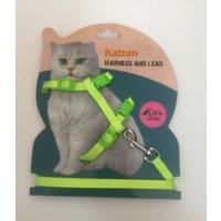 Katzen Kedi Göğüs Tasması Yeşil
