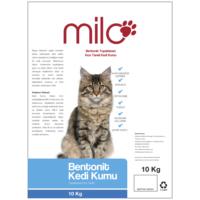 Milo Bentonit Topaklanan İnce Taneli Kedi Kumu 10 Kg