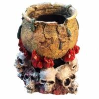 Akvaryum Dekoru Cadı Kazanı D-254