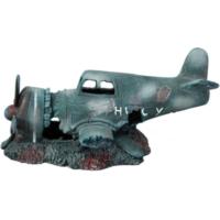 Akvaryum Dekoru Uçak Enkazı 30 Cm X 14,5 Cm X 14 Cm