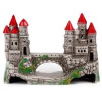 Güner Seramik Köprülü Şato Akvaryum Dekoru