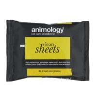 Animology Clean Sheet Kedi Köpek Temizleme Mendili 20 Li Paket