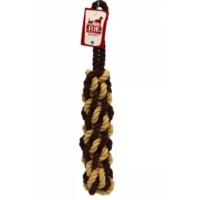 Flip Köpek Diş İpi (Krem-Kahve) 320 Gr 42 Cm