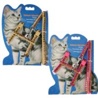 Katzen Pullu Kedi Göğüs Ve Uzatma Tasma Takım