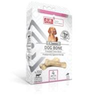 Flip Beyaz Press Köpek Çiğneme Kemiği 25 Gr 4 Lü Paket
