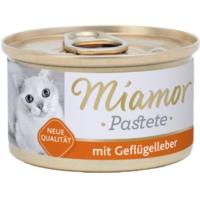 Miamor Pastete Ciğerli Kedi Konserve 85 Gr