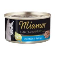 Miamor Ff Naturel Ton Balığı Ve Karidesli Kedi Konserve 80 Gr