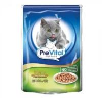 Prevital Sterile Ciğerli Kısırlaştırılmış Kedi Pouch Konserve 100 Gr