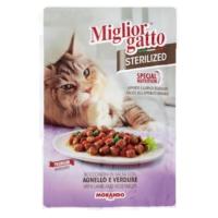 Miglior Gatto Kuzu Ve Sebzeli Kısırlaştırılmış Kedi Pouch Konserve 85 Gr