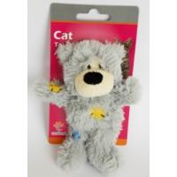 Eastland Kedi Otlu Hışır Peluş Ayı Kedi Oyuncağı 11 Cm