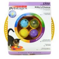 Pet Stages Kittys Choice Toplu Kedi Oyuncağı 4 Farklı Top