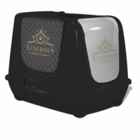 Moderna Trendy Luxurious Kapalı Kedi Tuvalet Kabı 50 Cm