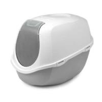 Moderna Mega Smart Kedi Tuvalet Kabı 46 Cm X 55 Cm X 49 Cm Gri