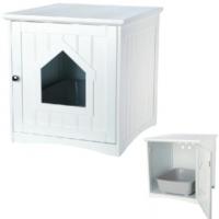 Trixie Kedi Tuvalet Evi 49 Cm X 51 Cm X 51 Cm Beyaz