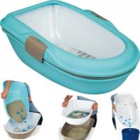 Trixie Elekli Açık Kedi Tuvaleti Mavi 39 Cm X 22 Cm X 59 Cm