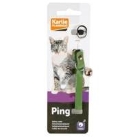 Karlie Kadife Kedi Boyun Tasması Yeşil