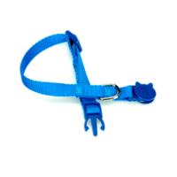 Doggie Dokuma Kedi Boyun Tasması Mavi Kbt-10