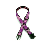 Doggie Etiketli Dokuma Kedi Boyun Tasması No:2 Siyah Ekbt-1005
