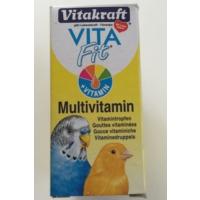 Vitakraft Vita Fit Kuş Multivitamin 10 Ml