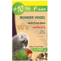 Wunder Vogel Selections Aromalı Papağan Yemi 1000 Gr + 100 Gr Bonus