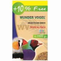 Wunder Vogel Selections Aromalı Tropikal Bülbül Yemi 1000 Gr + 100 Gr Bonus