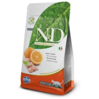 N&D Tahılsız Balık Ve Portakallı Yetişkin Kedi Maması 5 Kg