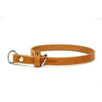 Doggie Klasik Deri Boğma Tasması Kamel 2,0 X 60 cm