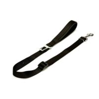 Doggie Dokuma Emniyet Kemerli Gezdirme Kayışı Siyah 2,5 X 100 cm