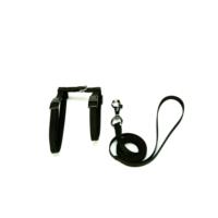 Doggie Dokuma Kedi Gezdirme Göğüs Takımı Siyah 1,0 X 30-40 cm