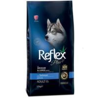 Reflex Plus Somonlu Büyük Ve Orta Irk Köpek Maması 15 Kg