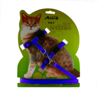 Astro Kedi Göğüs Tasması Mavi