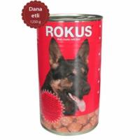 Rokus Dana Etli 1250 G. Köpek Konserve Maması
