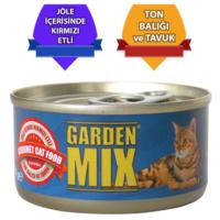 Gardenmix Jöleli Tavuklu Kırmızı Ton Balıklı Mama 85 gr