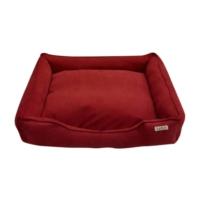 Lepus Soft Kırmızı Köpek Yatağı X Large 75x20x95 cm
