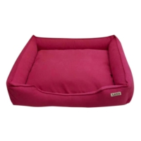 Lepus Soft Fuşya Köpek Yatağı X Large 75x20x95 cm