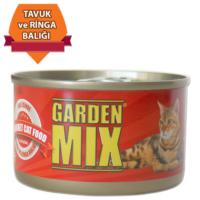 Garden Mix Jöle İçinde Tavuk ve Ringa Balığı 85 gr