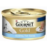 Purina Gourmet Gold Kıyılmış Ton Balıklı Kedi Konserve Mama 85 gr