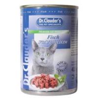 Dr. Clauder Kedi Konserve Balıklı 415 Gr