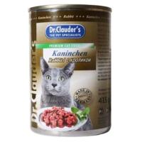 Dr. Clauders Kedi Konserve Maması Tavşan Etli 415 Gr