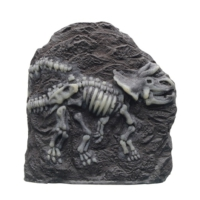Marına Dekoratif Fosil Trıceratop (16X6,5X17 Cm)