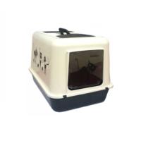 Flip Kedi Kapalı Tuvalet Kabı
